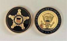 Secret Service Presidential Challenge Coin POTUS Trump Obama VP Biden Kamala
