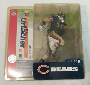 2004 Brian Urlacher - Chicago Bears Series 9 - Blue Jersey Figure NIP McFarlane
