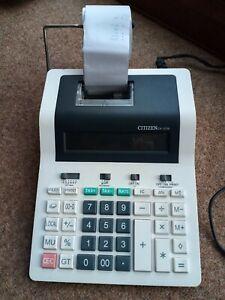 Citizen CX121N calculator  (Desktop, Printing calculator,
