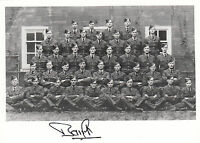WWII WW2 RAF Ace Battle of Britain BAMBERGER DFC signed group photo