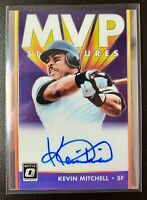 2019 Donruss Optic MVP Signatures KEVIN MITCHELL Autograph Card #MVP-KM Giants