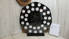 50p pence coin frame black royal mint stand olympic 2012 50p display holder