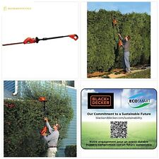 Black+Decker Lpht120B Bare Max Lithium Ion Pole Hedge Trimmer, 20-Volt