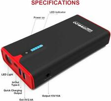 gooloo 1500a supersafe car jump starter with USB Quick Charge auto booster