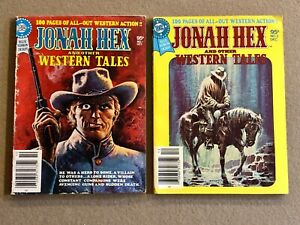 Jonah Hex & Other Western Tales Blue Ribbon Digest # 1 & 2 Original Owner Collec