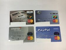 4 Expired Credit Cards For Collectors - MasterCard Collection Lot (7066)
