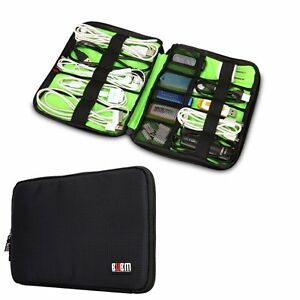 BUBM Universal Cable Charger Organizer Electronics Accessories Travel Case -S-