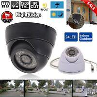 1200TVL CCTV Camera 1.3MP 720P 6-22mm Long Range 240FT Night Vision ZM