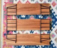 Original String Furniture Pocket Shelves Walnut/Black
