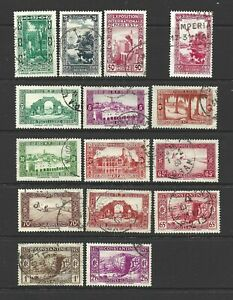 Algeria used, 1930s, 1940s, 1950s (3 scans, 44 stamps)