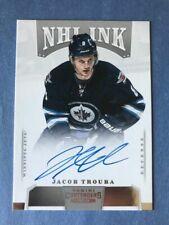2013-14 PANINI CONTENDERS NHL INK ROOKIE AUTO #1-JTR JACOB TROUBA