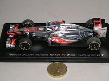 Jenson Button McLaren Resin Diecast Racing Cars