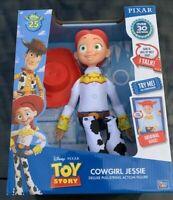 "NEW Disney Pixar 25th Year Toy Story Talking JESSIE 14"" Doll Pull String (NIB)"