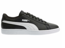 NEW IN BOX Puma Men's Black Leather Tennis Gym Shoes Sneakers PICK SIZE