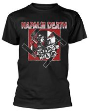 Napalm Death 'Nazi Punks' T-Shirt - NEW & OFFICIAL!