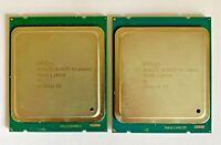 2x Intel Xeon E5-2660 V2  2.2GHz 10 Core 25MB SR1AB LGA 2011 CPU Processor