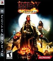 Hellboy The Science of Evil Playstation 3 Game PS3 Used Complete