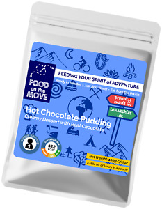 Lightweight Dehydrated Pouched Dessert - Chocolate Pudding - 100g