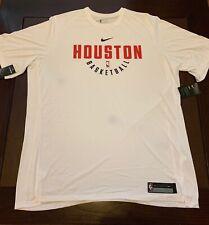 Nike Houston Rockets Short Sleeve Shooting Shirt NBA Dri Fit  NWT Size 3XL