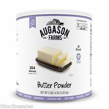 Augason Farms Butter Powder 36 oz Emergency Survival Camping Outdoor Food
