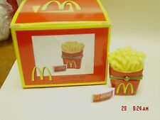 PHB MIDWEST McDONALD'S FRENCH FRIES TRINKET BOX W/ KETCHUP PACKET TRINKET