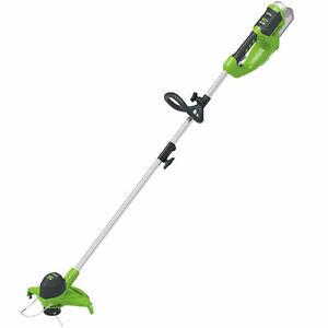 Greenworks G40LT 40v Cordless Grass Trimmer 300mm No Batteries