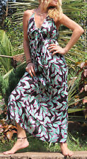Womens Dress Floral Boho Summer Maxi Holiday Evening Cocktail Sundress Party 14