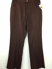 Westbound Pants New Women's 6P Petite Brown W28
