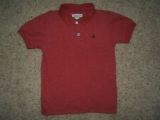 Calvin Klein  Boy's sz 5 Short Sleeve Cotton Blend Polo Shirt