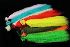 11 Colors Crimped Nylon Synthetic Fiber Clouser Fibre Minnow Fly Tying Materials