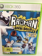 Rayman Raving Rabbids Video Game PAL Version XBOX 360 Microsoft 2006