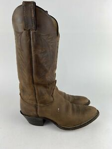 Justin Classic Western Bay Apache Cowhide Boot L4934 Brown Women's 6 B USA Made