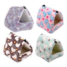 New listing Hamster Hammocks Rat House Bed Warm Hut Shed Guinea Pig Hanging Cage Bedding for