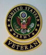 United States Army Veteran Patch Set 3 1/2""
