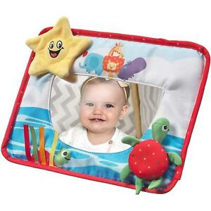 Nuby Tummy Time Mirror, baby learns and develops while having fun