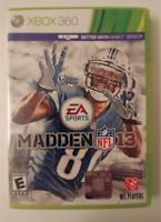 MADDEN NFL 13 XBOX 360 - TESTED