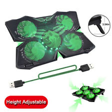 5 Fans Gaming Laptop Cooling Pad for 12