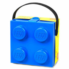 Lego Lunchbox with Handle BLUE , NEW