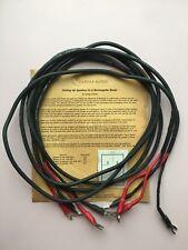 One pair original Cardas SE9 speaker cable 2 m
