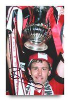 Bryan Robson Signed 6x4 Photograph Photo Manchester United Man Utd Autograph COA