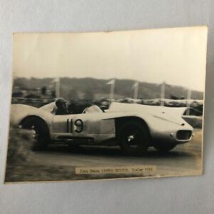 1955 John Green Lister Bristol Ibsley Racing Car Photo Photograph Image