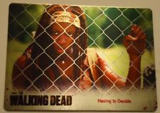 Walking Dead Season 3 #36,HAVING TO DECIDE,MICHONNE FOUR COLOR Metal Parallel
