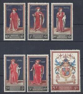 [M11699] Belgium N°1102/1107 Historical Figures MNH ** COB € 13,50 SUPERB