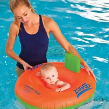 Zoggs Trainer Seat Stage 1 Baby Swimming Inflatable Ring 3-12M Swim New Boxed
