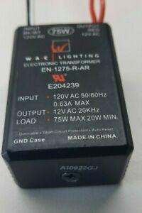 WAC Lighting EN-1275-R-AR Electronic Transformer 120V - 12V 75W, (NEW NO BOX),