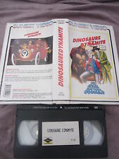 Dinosaure Dynamite/The Ghost Busters, VHS, Dessin animé, RARE INEDIT DVD!!!