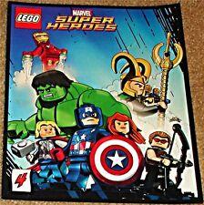 MARVEL SUPERHEROES COMIC 4 RARE LEGO GIVEAWAY PROMO AVENGERS IRON MAN HULK THOR