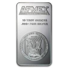 10 oz Silver Bar - APMEX - SKU #27087