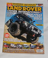 LAND ROVER OWNER INTERNATIONAL MAY ISSUE 6 2008 - SIX STUNNING REBUILDS