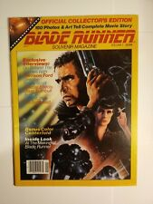 New listing Blade Runner Souvenir Magazine Official Collector's Edition Vol 1 1982